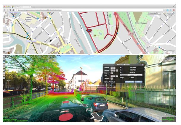 Orbit GT releases Mobile Mapping Publisher 11.0